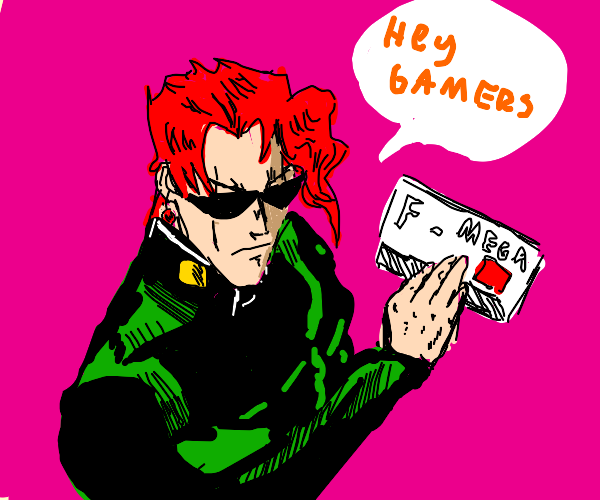Kakyoin, ultimate gamer