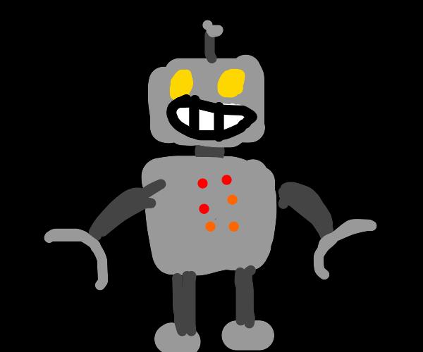Happy robot.
