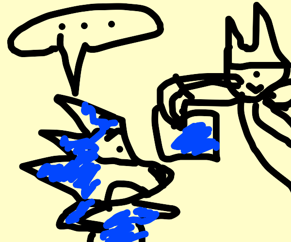 Sonic's surprised to see badly drawn Sonics