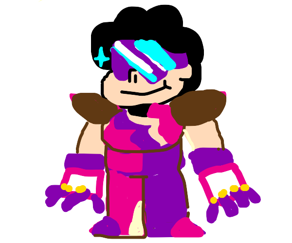 Steven dresses like Garnet