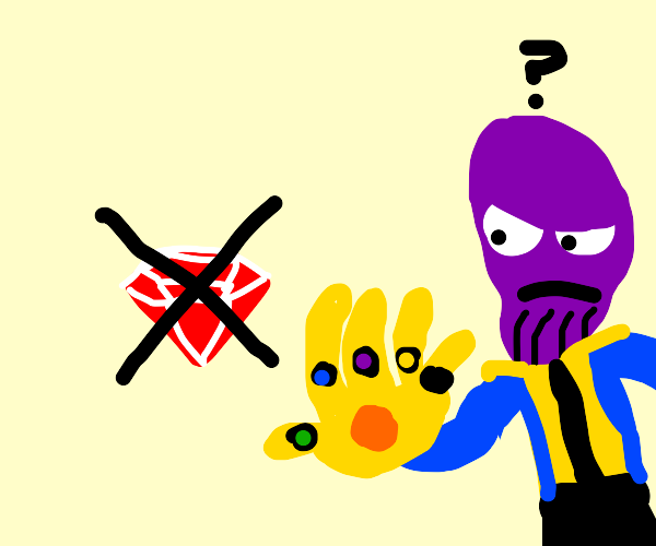 Thanos lost the reality stone