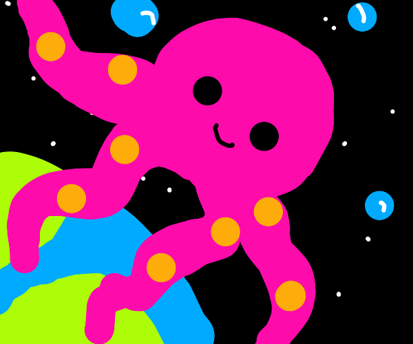 God is a Pink Octopus