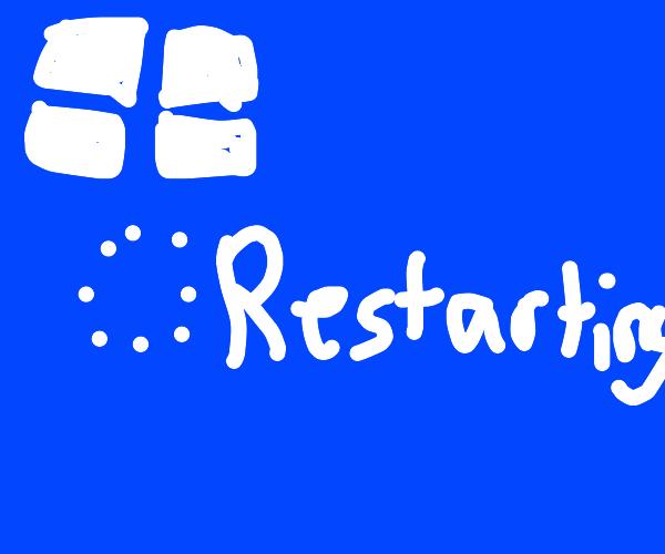 Rebooting Windows