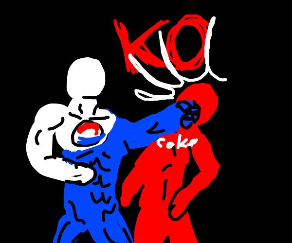 Pepsi man vs coke