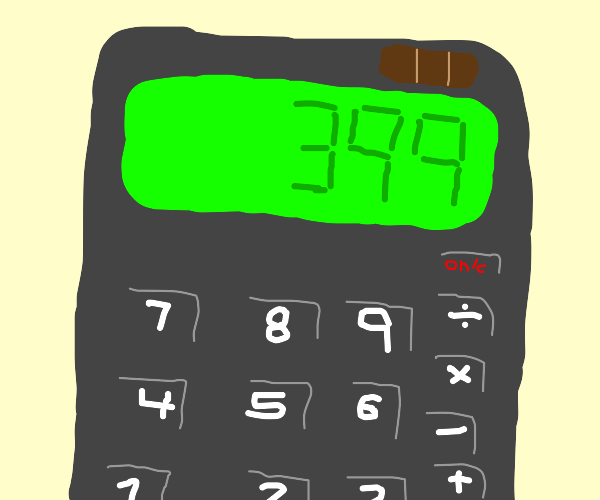 (3+54) x 7 = ?