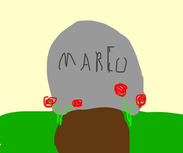 a memorial to mario games