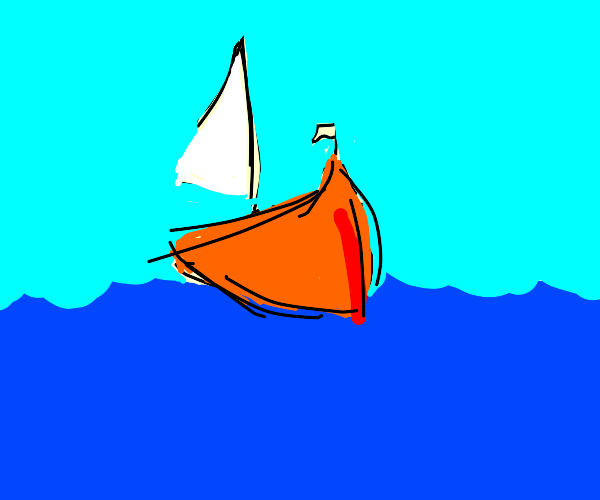 Greasy Sailboat