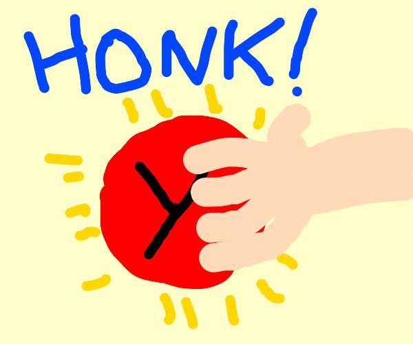 Press Y to Honk