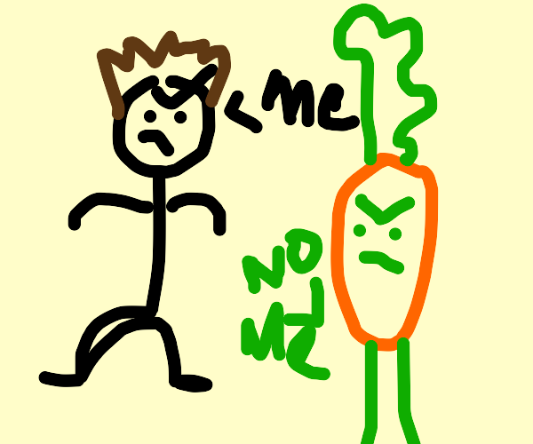 brock n carrot complaining whom is better