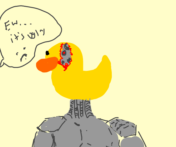 Ugly Duckling from the Year 2500