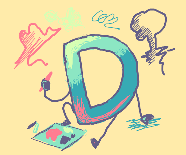 The Drawception D Drawing