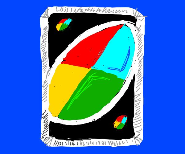 UNO choose Color card