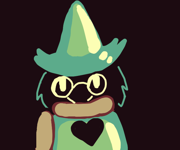 Ralsei staring at you o.o