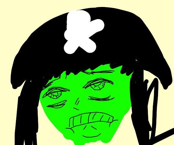 Green Pirate Lady