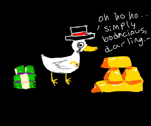 fancy ducky