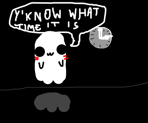 its spoopy time