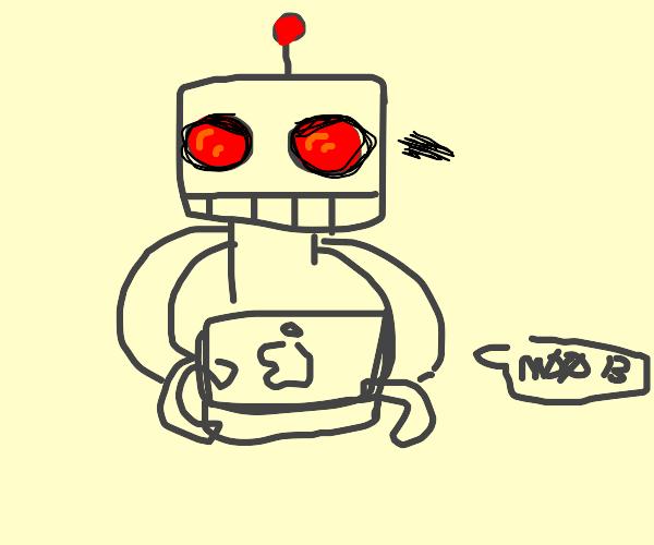 Robot typinf