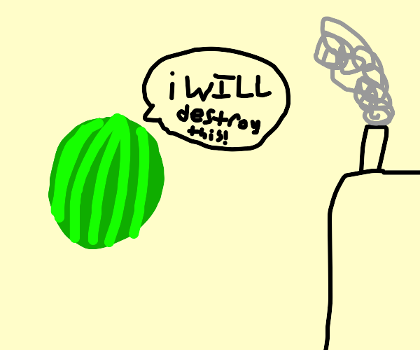 Watermelon threatens to destroy factory