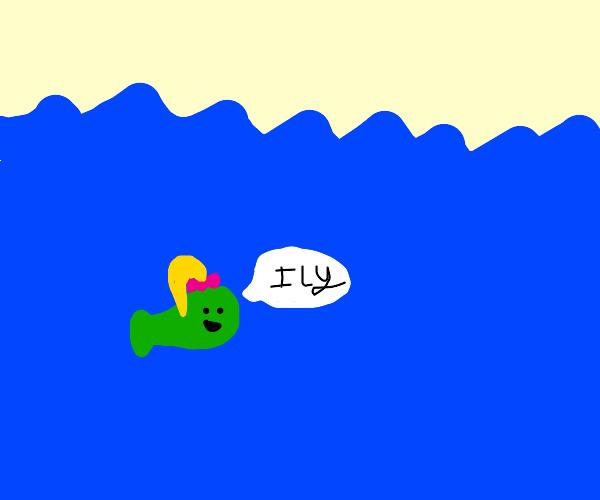 fish face jojo siwa loves you