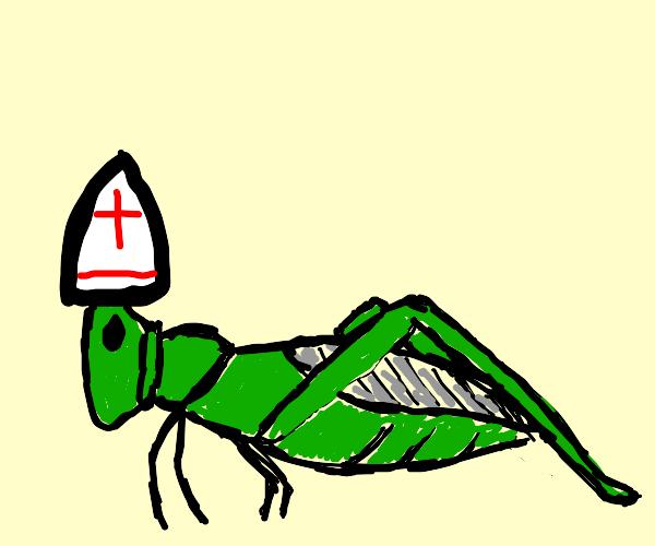 Locust bishop