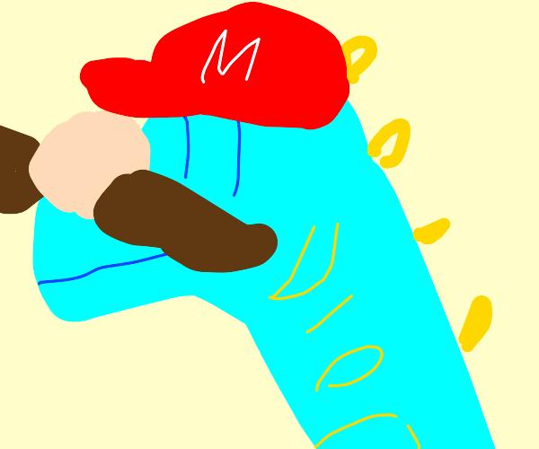 Mario but he's Diego Brando