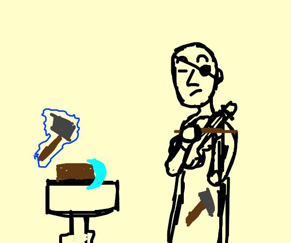 Violin Blacksmith