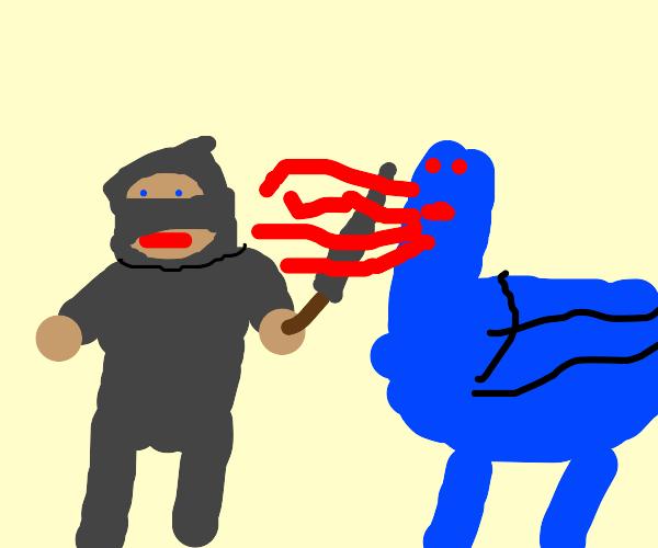 knight.vs.dragon