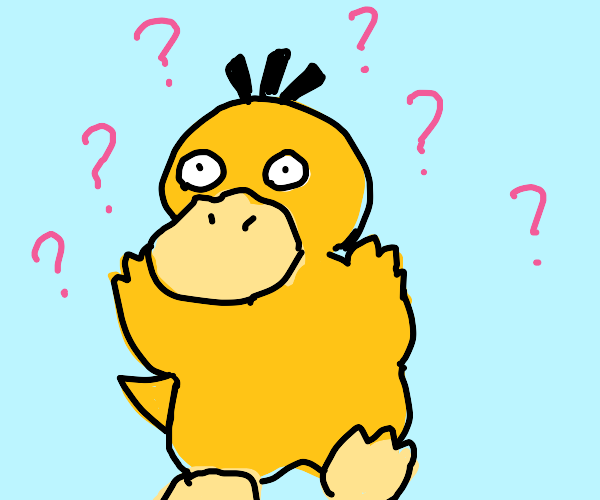 Confused Psyduck