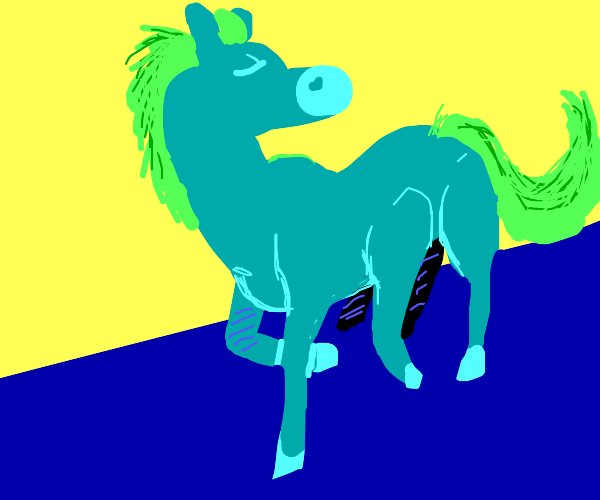 6 legged horse