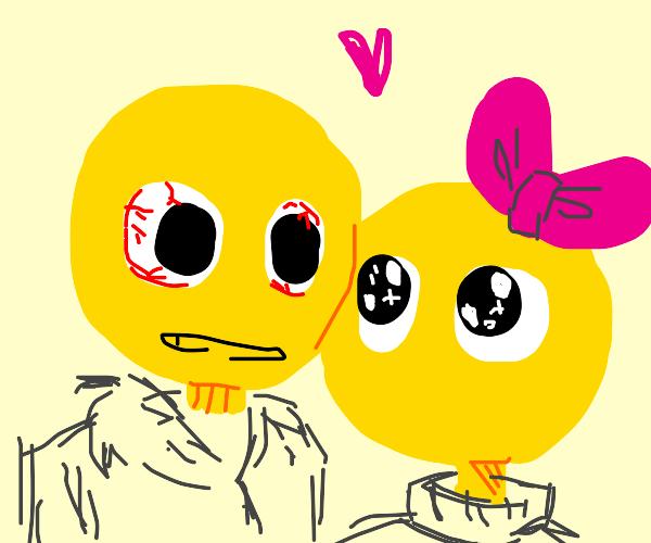 Powercry Emoji x Stressed Emoji