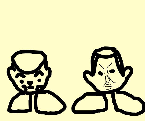 Shoesuke and Okuyashoe