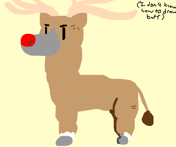Buff Reindeer