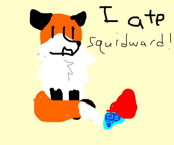 a fox says he ate swuidward