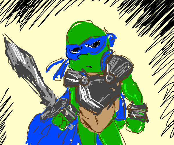 Teenage Mutant Paladin Turtle