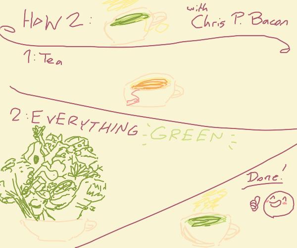 how to make green tea 101