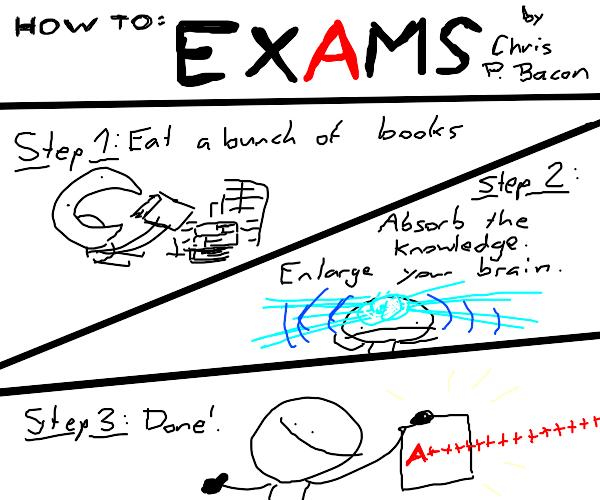 Exam passing tutorial