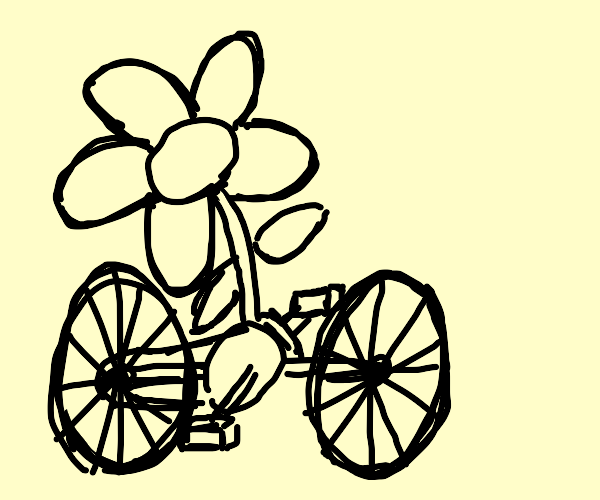 flower with only 2 pedals