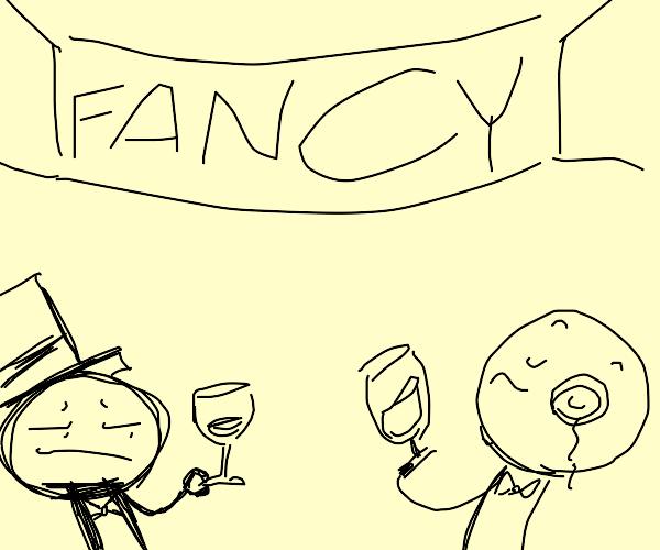 Fancy party for fancy people