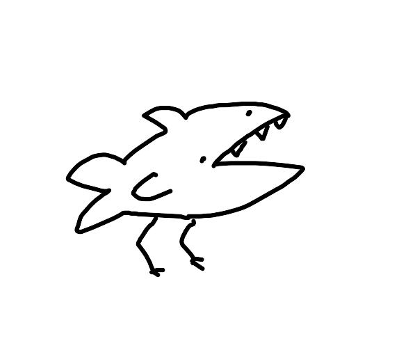 Shark Bird Hybrid