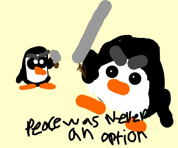 penguin versus penguin