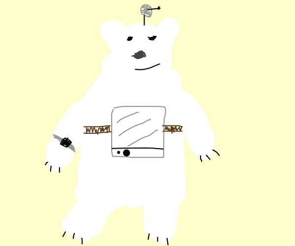 Futuristic Polar Bear
