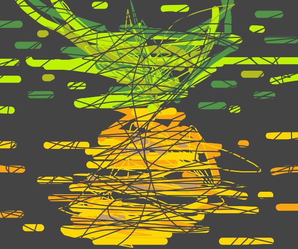 Pineapple (abstract impression)