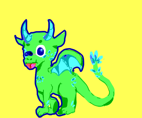 Cute Little Dragon