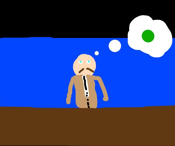 News Anchor Daydreaming
