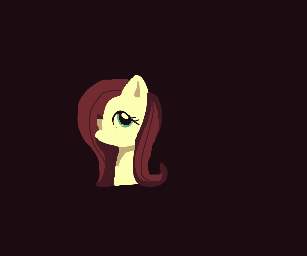fluttershy but special needs