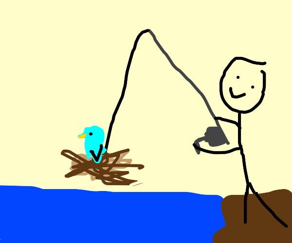 Fishing with a Nest