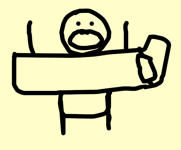 Man stuck in bed