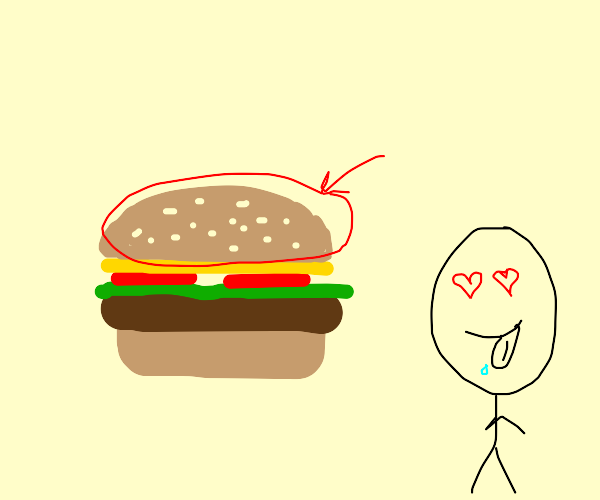 Hamburger Top Bun