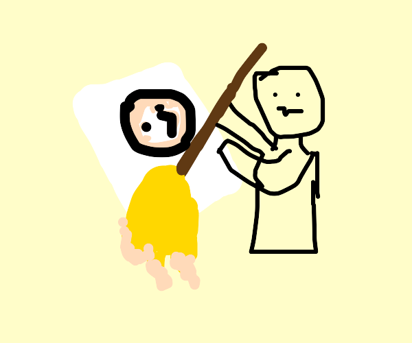 Drawing with a Mop