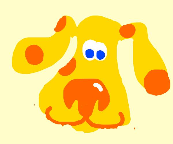 Blues clues dog ripoff - yellows clues dog